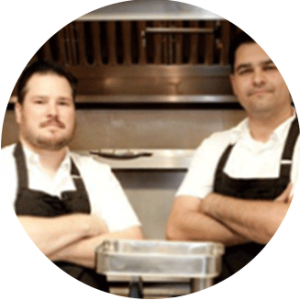 Chef Daniel and Jason